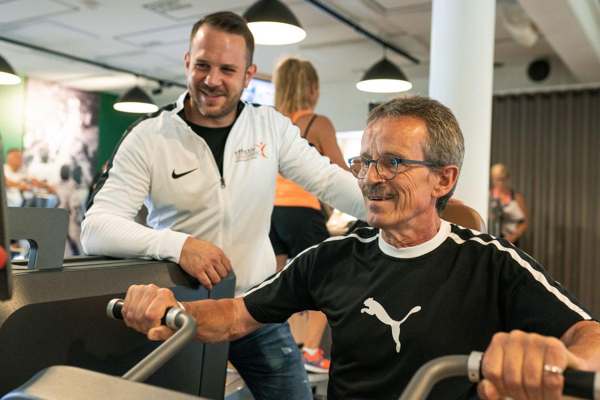 <em>Herzlich Willkommen</em>effectiv Trainingscenter in Ensch
