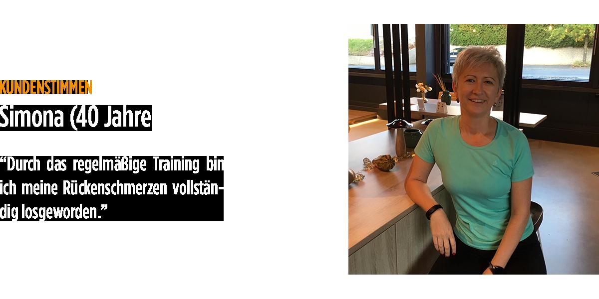 <em>Kundenstimmen</em>Simona (40 Jahre)